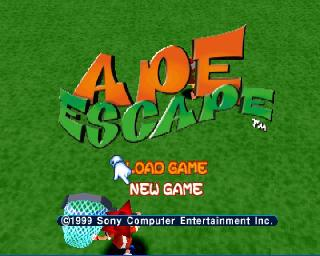 Screenshot Thumbnail / Media File 1 for Ape Escape [U]